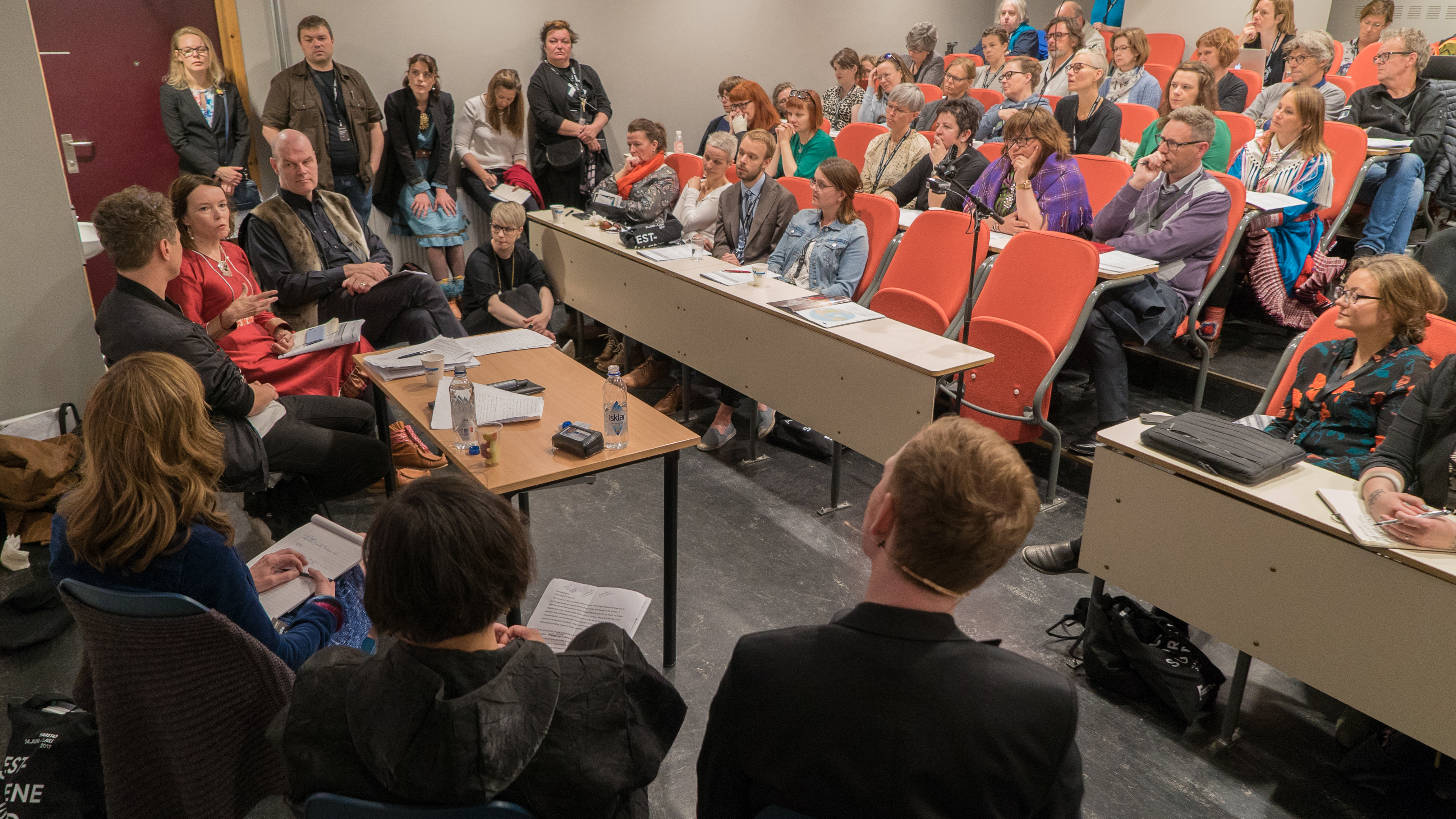 From the session «Curating the North» at Arctic Arts Summit