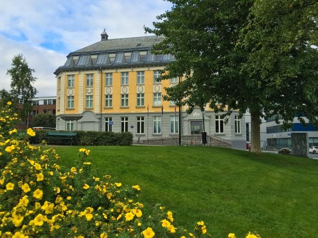 Nordnorsk Kunstmuseum in the summer time
