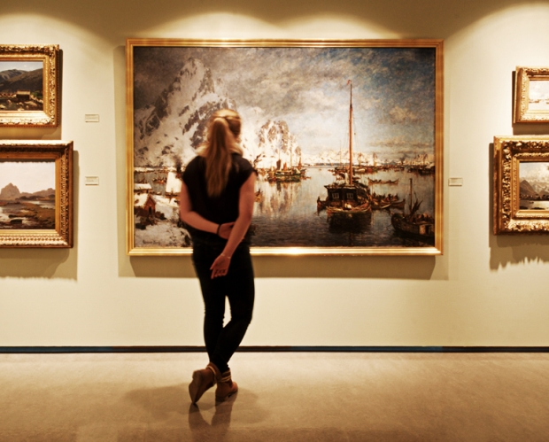 2d439475 The exhibition of works from our permanent collection was designed in 2010,  focusing mainly on historical painters like Adelsteen Normann,  Francois-Auguste ...